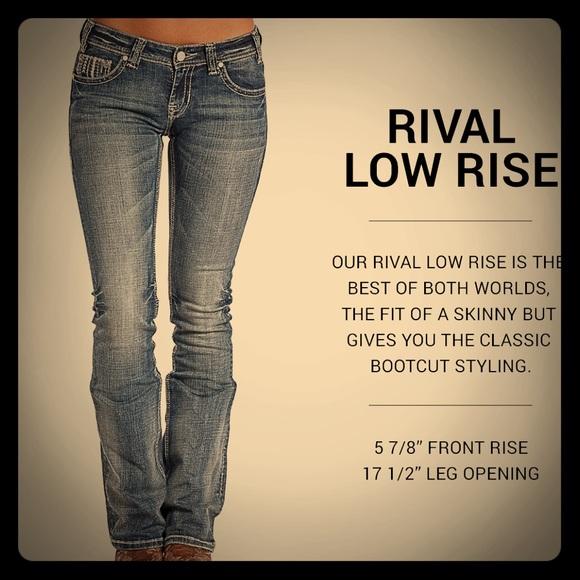 7eab60afb5b Rock   Roll Cowgirl Rival Low Rise Dark Vintage Ws.  M 5a61464af9e50183eb112a77